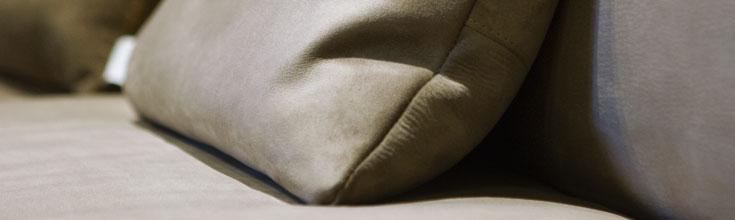 Dettaglio divano atelier Emmeti